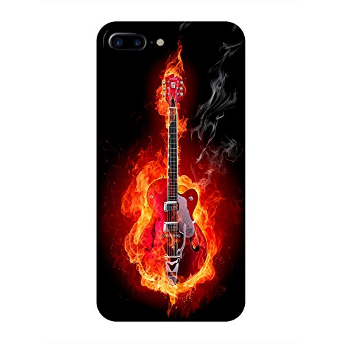 Coque Apple Iphone 7+ - Guitare en feu