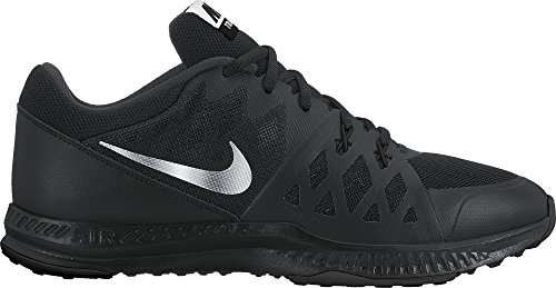 Nike Mens Air Epic Speed Tr Ii Scarpe Cross Trainer Nere / Argento Riflettente