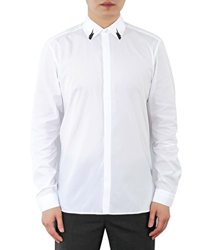 wiberlux-neil-barrett-mens-mini-thunder-print-concealed-placket-shirt-40-white