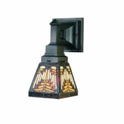 5 Inch W Navajo Mission 1 Lt Wall Sconce Wall Sconces ()