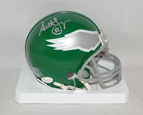 Seth Joyner Autographed Philadelphia Eagles TB Mini Helmet- JSA Witnessed Auth (Authentic Tb Mini Helmet)