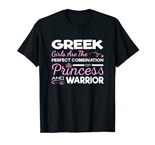 Greek Girls Combination of Princess and Warrior -