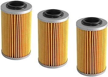 3x Ölfilter Ersatzteil Für Kompatibel Mit Can Am Renegade 500 800 1000 Auto
