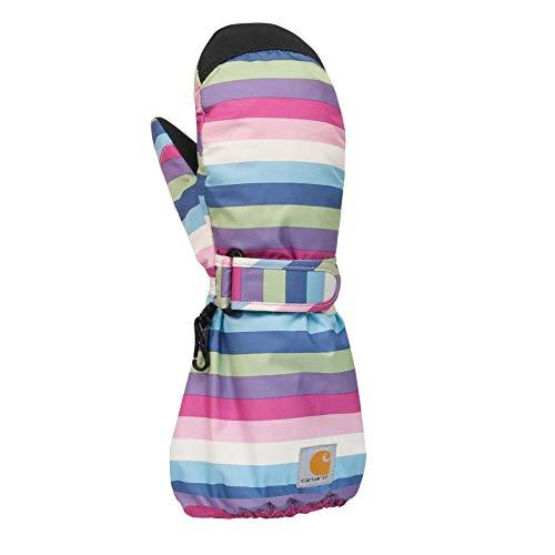 Carhartt Little Girls' Stripes Mitt, Multi, - Women Carhartt Insulated Gloves