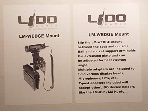Comet Cell Phone - Comet/Lido LM-Wedge Seat Gap Wedge Mount w/LM-EXT-01