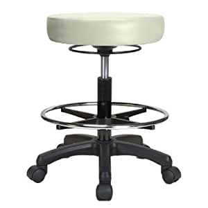 Perch Life Rolling Pneumatic Adjustable Stool
