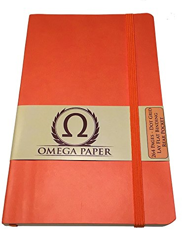Omega Paper - Dot Grid Notebook / Bullet Journal - 264 Pages - Large - 5