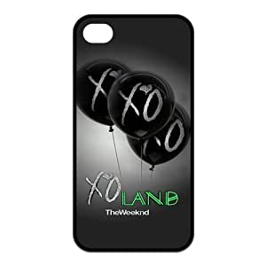 Case for iPhone 4s,Cover for iPhone 4s,Case for iPhone 4,Hard Case for iPhone 4s,The Weeknd & XO Design TPU Hard Case for Apple iPhone 4 4S