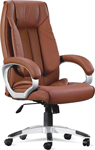 Ordinaire Adiko High Back Office Chair (Brown)