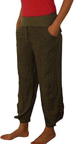 Perano - Pantalón - Básico - para mujer verde oliva