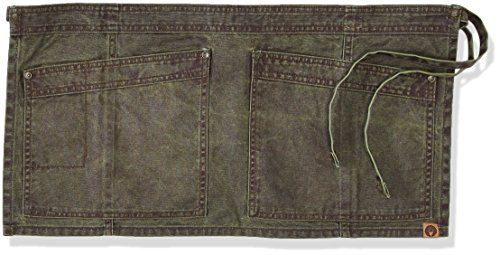 Chef Works Denver Waist Apron, Olive Wood, One Size by Chef Works