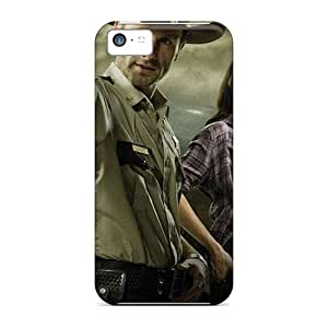 Fashion Cases For Iphone 5c- The Walking Dead – Rick And Lori Defender Cases Covers