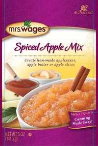 Mrs. Wages Spiced Apple Mix 5 Oz. Packets, for Making Apple Butter and Apple Sauce (Pack of 6) by Mrs. Wages