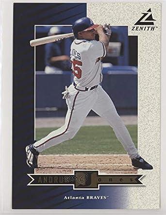 Amazoncom Andruw Jones Baseball Card 1998 Pinnacle Zenith 5x7