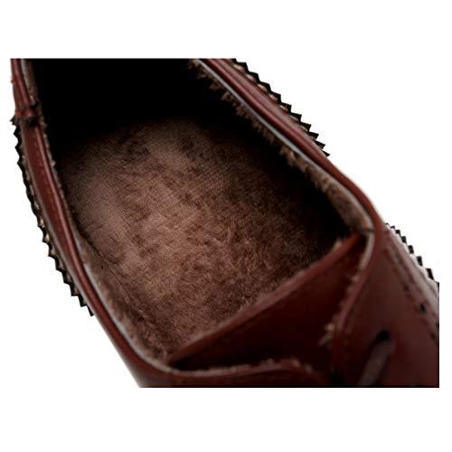 Coolcept Zapatos m Brogue Cómodo Beige Ancho Tacón Mujer wqvPUn7rxw