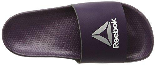 delta Zapatillas White Original Reebok Para Silver Purple lavish Morado Met Deporte Mujer De Slide EqHxwP8