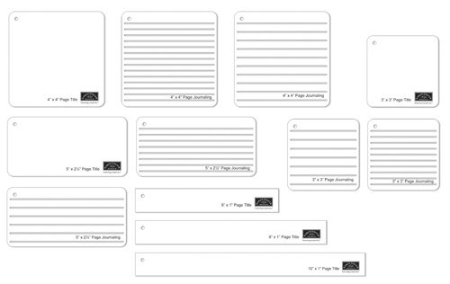 Amazon.com: Karen Foster Design Map-A-Page Template Title ...