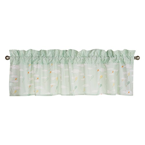 Trend Lab Dr. Seuss Oh The Places You'll Go! Unisex Window Valance, Orange/Yellow/Green and White