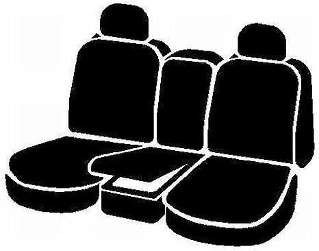 FIA NP92-30 Black with Gray Cover Rear Split Seat 60//40//Neoprene Center Panel