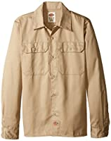 Dickies Boys' Twill Long Sleeve Shirt