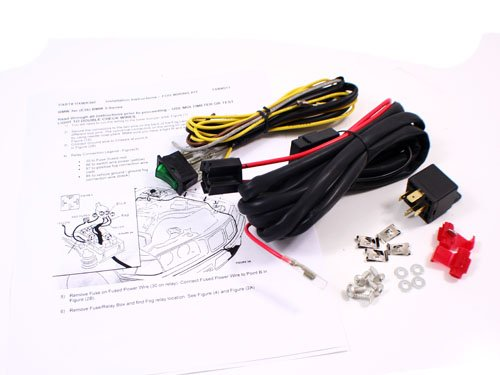 92-99 BMW E36 3-SERIES FOG LIGHT WIRING HARNESS KIT W/SWITCH + RELAY ProMotoring