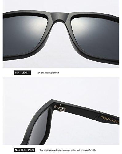 para Mujer para UV Aviator Gafas Protección Polarizadas C3 400 Sol C2 De Hombre TqwnIXY