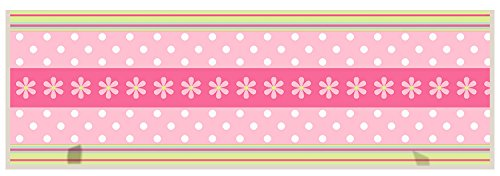 illumalite Designs Daisy Ribbon Plaque with Pegs, (Daisy Peg)