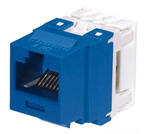 Panduit NK688MBU Category-6 8-Wire Jack Module, Blue