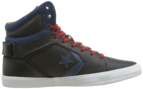 mixte Mid mode As12 Baskets Converse Noir Noir adulte Americ Bleu UIwZIxEX