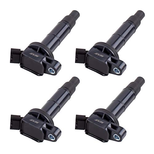 (Set of 4 Ignition Coils For Toyota Camry RAV4 Solara Matrix Highlander Lexus Pontiac Scion UF333 C1330 UF-333 5C1299)