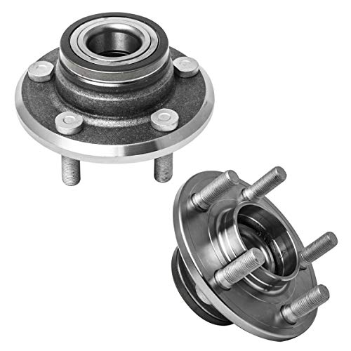 Price comparison product image Front Wheel Hub and Bearing Assembly Left or Right Compatible Chrysler 300 Dodge Challenger Charger Magnum AUQDD 513224 x2 (Pair) [ 5 Lug W / ABS RWD ]