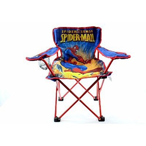 Marvel Spider Man Toddler Camp Chair Import It All