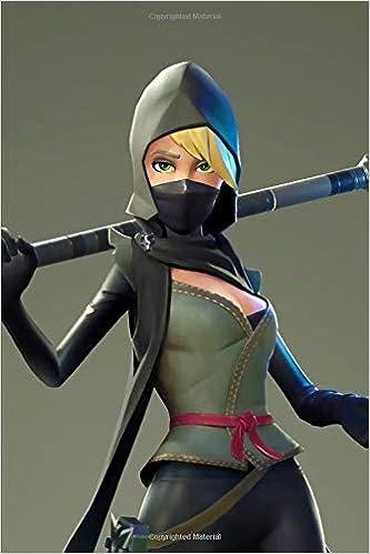 Fortnite - Blonde Ninja Girl Notebook: 2019 Weekly Planner ...