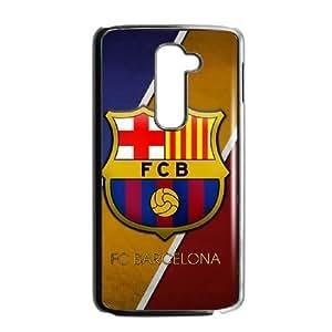 Plastic Case Arwdnv LG G2 Cell Phone Case Black Barcelona Generic Design Back Case Cover