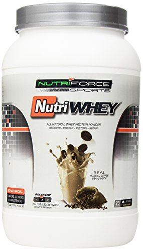 Nutriforce Nutriwhey Powder, Cafe Cream, 1.82 Pound by Nutriforce