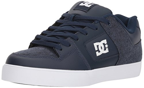 DC Men's Pure SE Skate Shoe, Blue, 6 Medium US