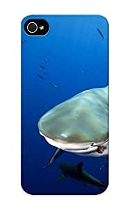 New Arrival Premium Iphone 5/5s Case Cover With Appearance (nature Shark Water Fish Scuba Diver Depth )