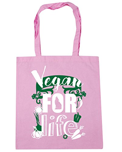 For Classic Shopping Gym 42cm Tote Beach 10 Dog litres Bag Motif Pink Life Vegan x38cm HippoWarehouse 5qxYpT6w