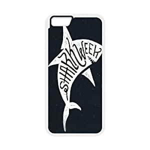 """T-TGL(RQ) Iphone6 4.7"""" Durable Phone Case Shark Week with Hard Shell Protection"""