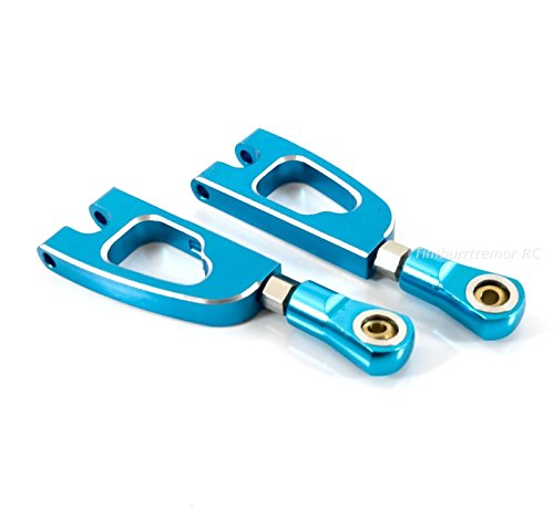 HSP 188020 Aluminum Rear Upper Suspension Arms, Blue for Redcat Volcano S30