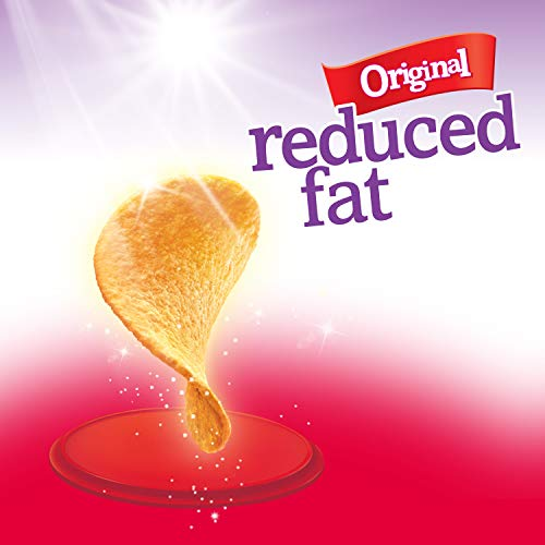Pringles Potato Crisps Chips, Reduced Fat, Original Flavored, 4.9 oz Can by Pringles (Image #4)