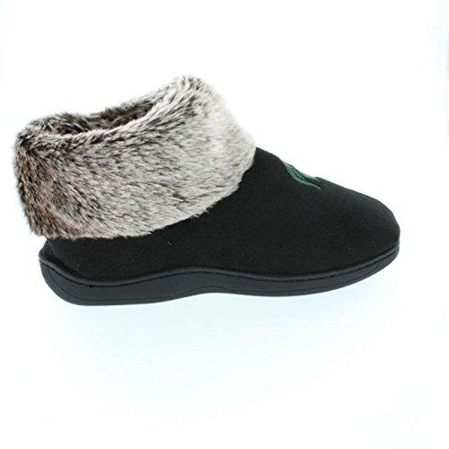 Fur Spartans Boots NCAA Michigan Top State Sheepskin Womens Feet College Faux Slipper Happy TYqZ6w7