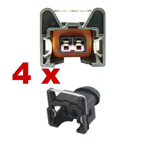 Reemplazo inyectores conector - BOSCH EV1 SHORT (4 x FEMALE) 1287013003, 1 287 013 003