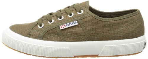 Military Sneakers Women's 2750 Superga 595 Green top Low Green Animalnetw w68HAXqy1