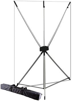 Westcott 577K X-Drop Kit with 5 x 7 Feet White Backdrop White//Silver