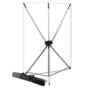 Westcott 577K X-Drop Kit with 5 x 7 Feet White Backdrop (White/Silver)