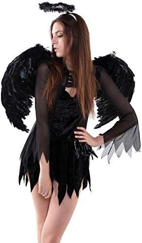 Feather Angel Wings Christmas Halloween Fancy Dress Costume Hen Night Party