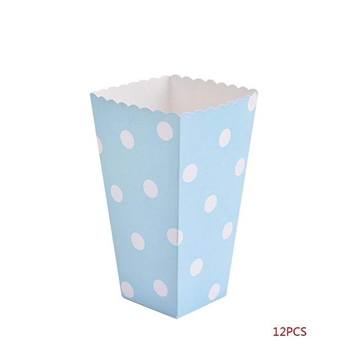 Bodbii 12PCS / Set precioso palomitas de caramelo Box sanck ...