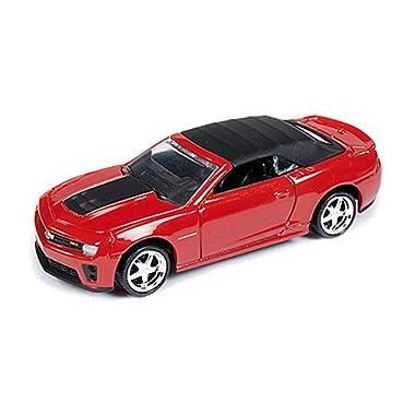 Chevrolet Camaro ZL1 Convertible, red/black, 2013, Model Car, Ready-made, car World 1:64