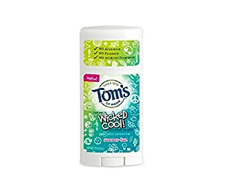 Tom s Wicked Cool Deodorant for Girls, Summer Fun, 2.25 Oz Pack of 2